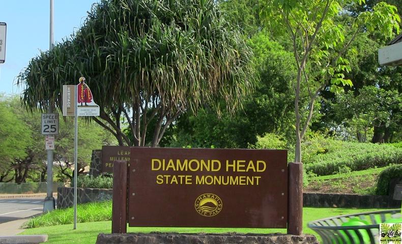 ダイヤモンドヘッド入口CLIP Oahu series-vol.005
